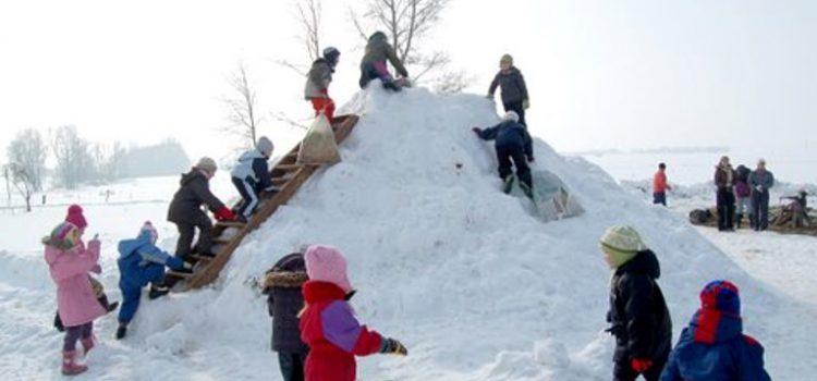 Spacery zimą z małymi dziećmi